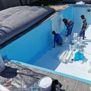 swimming pool renovation cape town